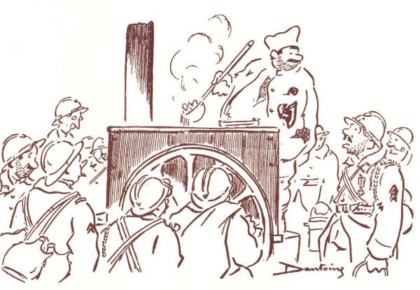 dessin de Pierre Dantoine
