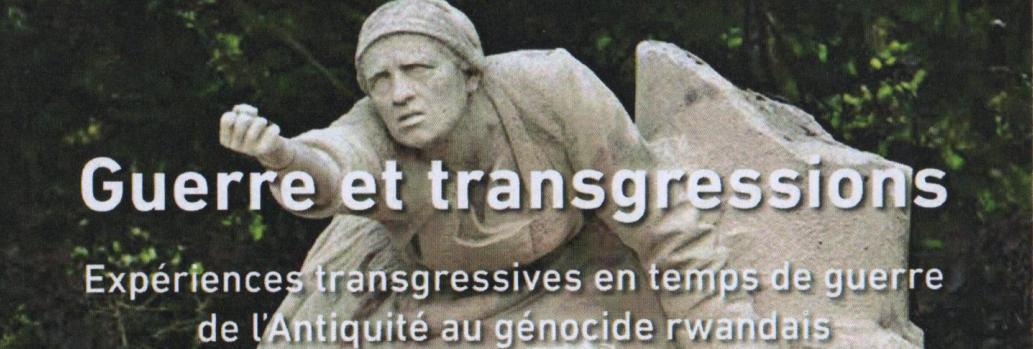Parution de Guerre et transgressions